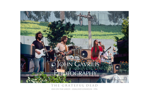 PictureThe Grateful Dead - Day on the Green - Oakland, Coliseum - 1976