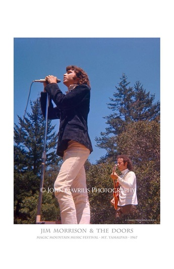 Jim Morrison & The Doors - Magic Mountain Music Festival - Mt. Tamalpais - 1967
