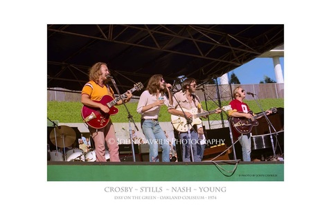 Crosby-Stills-Nash-Young - Day on the Green - Oakland Coliseum - 1974