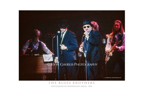 The Blues Brothers - The Closing of Winterland Arena - 1978