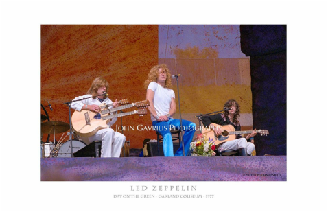 Led Zeppelin - Day on the Green - Oakland Coliseum - 1977