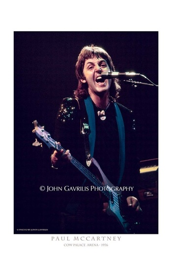 Paul McCartney - Cow Palace Arena - 1976